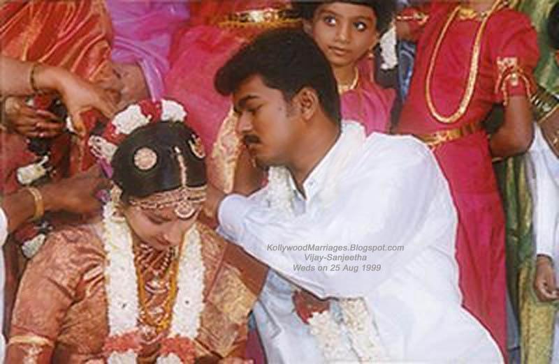 vijay snageetha marriage - thaali kattum kaatchi