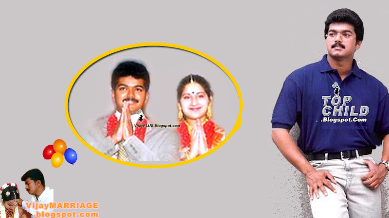 vijay and his wife sangeetha