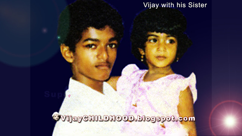 CHILDHOOD PHOTOS OF TAMIL ACTOR VIJAY
