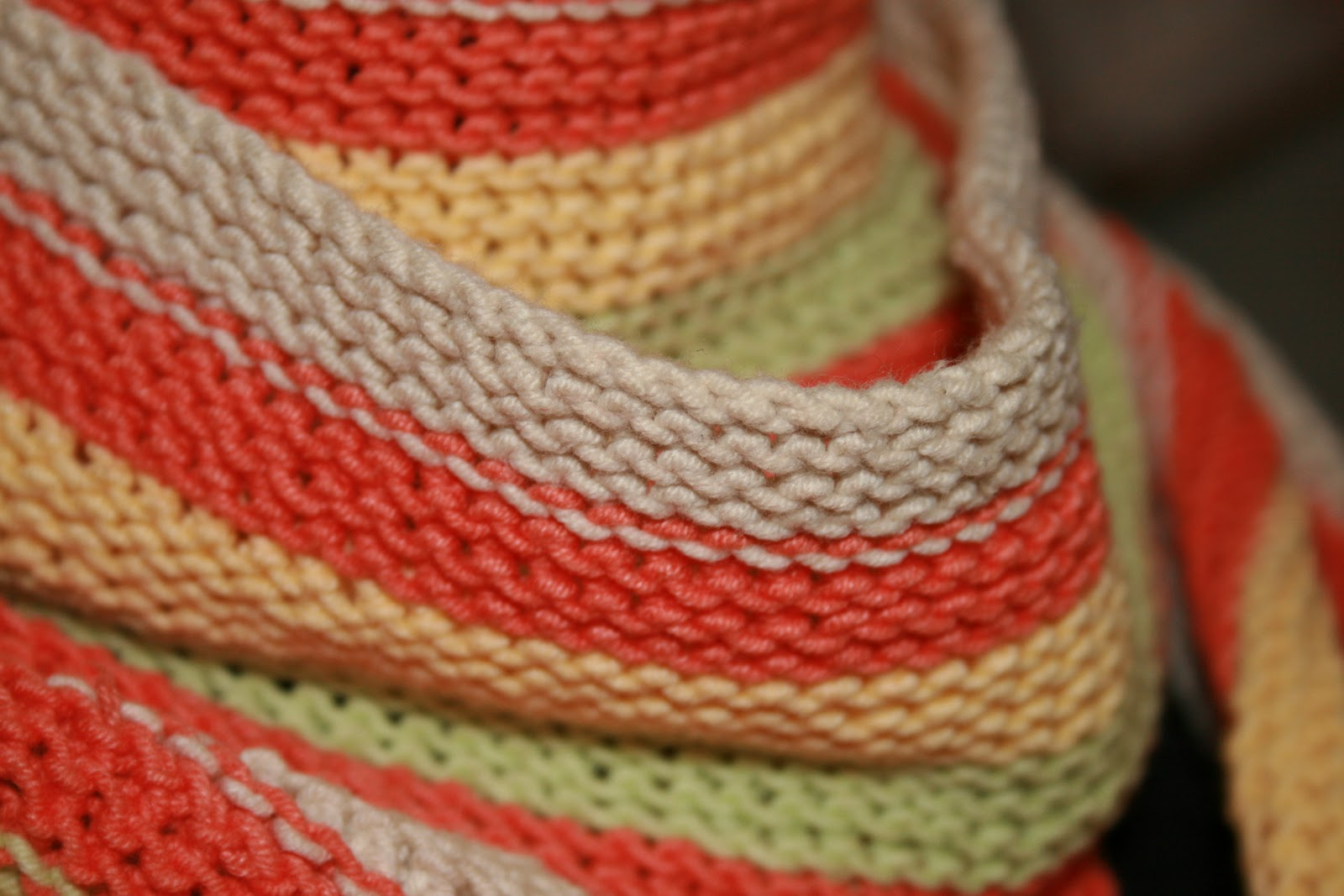 Полосатые шарфы вязание