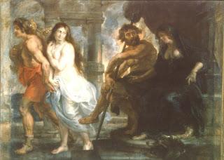 Orfeo y Eurídice, Rubens