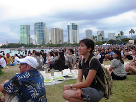 memory day in Alamoana Beach 2009