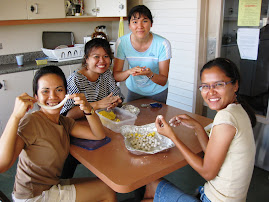making food with Thai friends