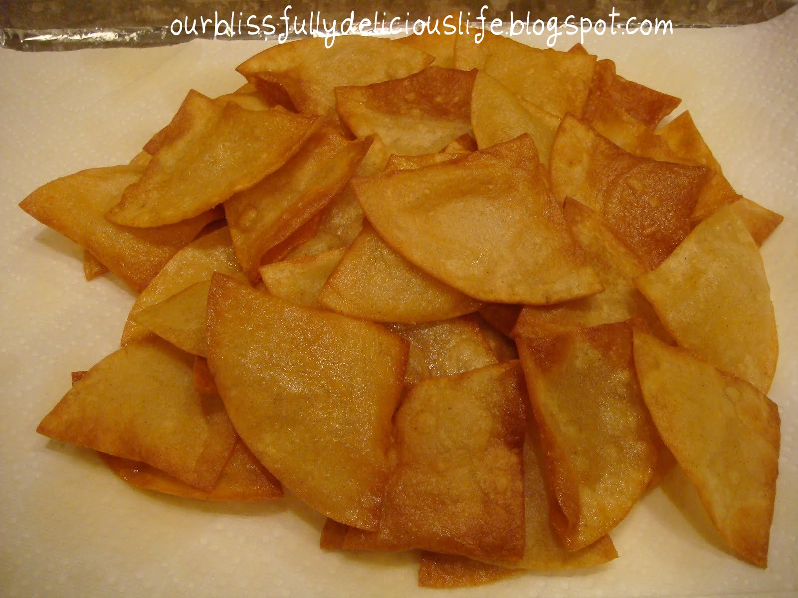 you ll need some homemade tortilla chips for the dips