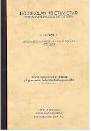 C-uppsats (41-60 P) 10 P