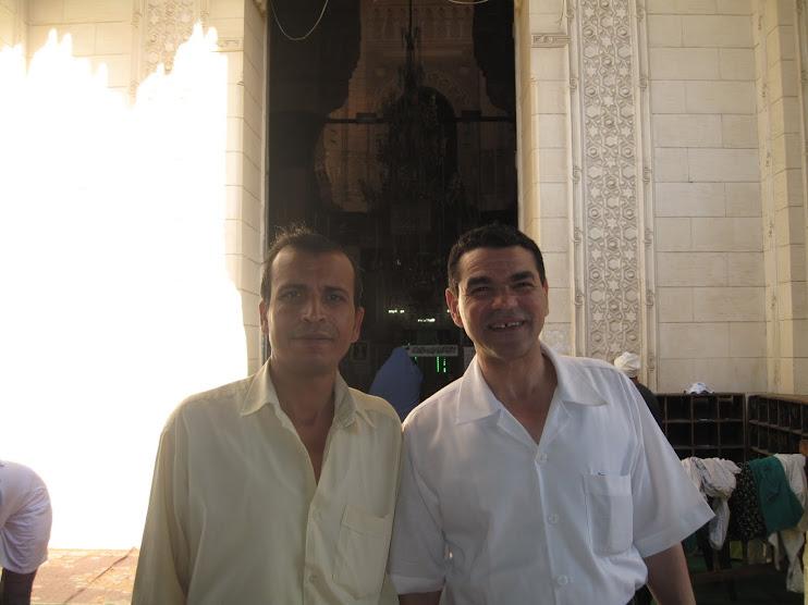 مع الشاعر جابر بسيونى فى الاسكندرية