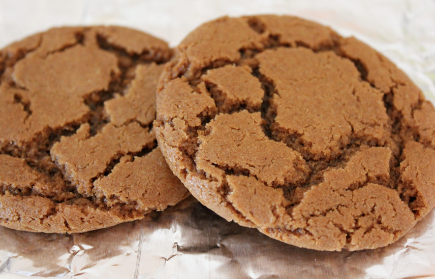 Milk 'N Cookiezzz: Vegan Blackstrap Molasses Cookies (repost)