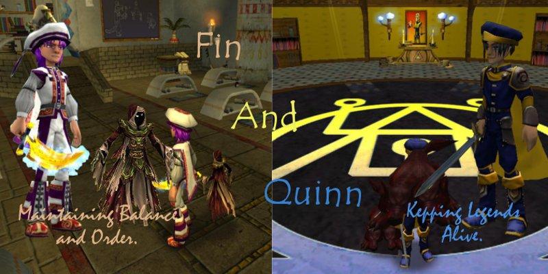 Fin and Quinn