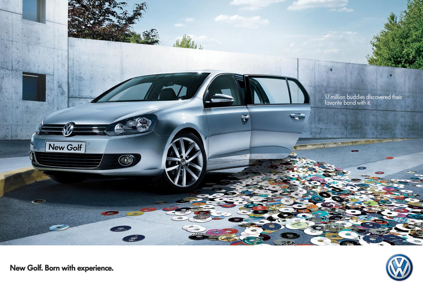 Etude De Publicit 233 La Nouvelle Volkswagen Golf