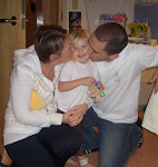 Us with our sweet Abbey who was diagnosed with leukemia on Oct. 2nd, 2008