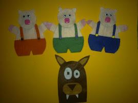 ♥Os três porquinhos♥
