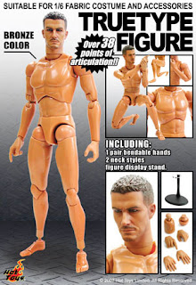 Nude Body Black Stains - 1//6 Scale Swat Commander 21 Toys Action Figures