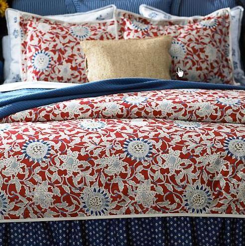 Ralph Lauren Cote D Azur Flower Comforter Top Quality