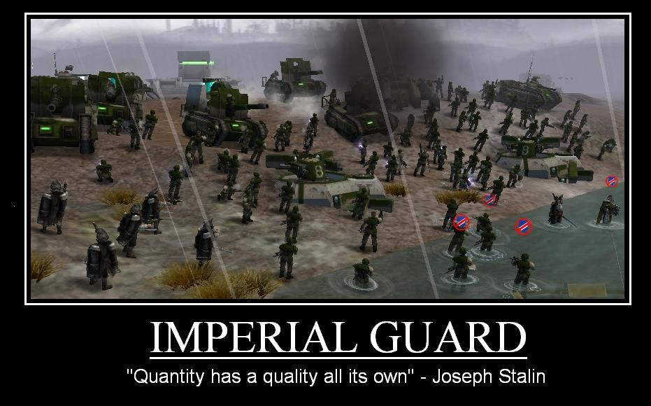 On the Origin Of the Infantry Imperial_guard_by_navalace