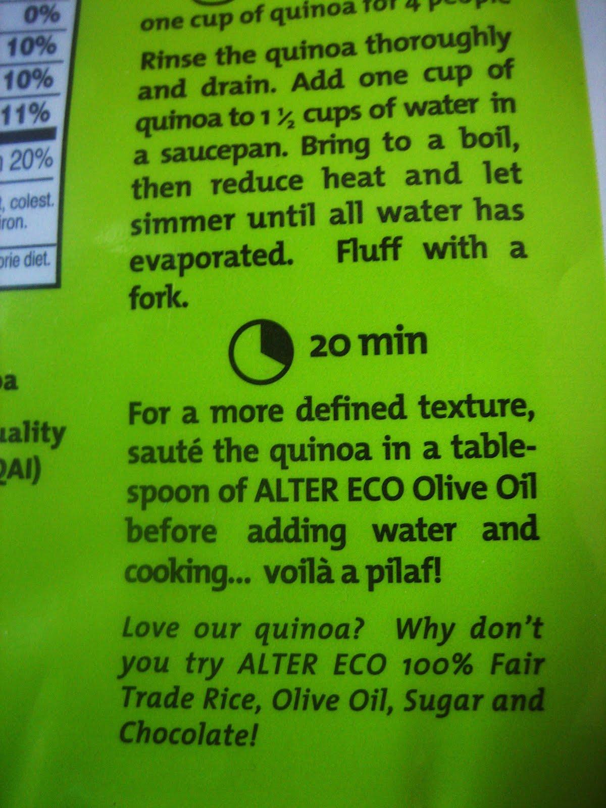 how to cook black quinoa