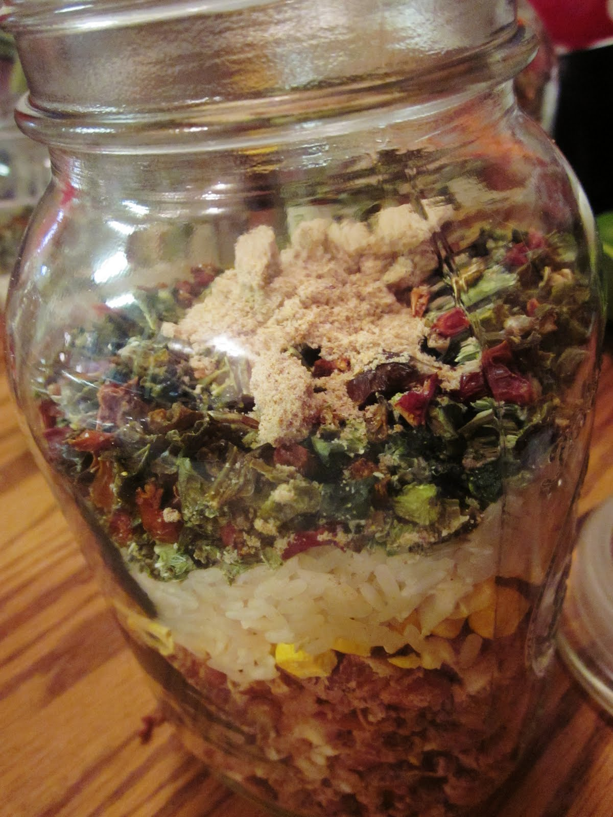 Chef Tess Bakeresse: Refried Bean Soup Mix (Dinner Is In The Jar)