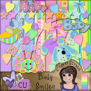 CU Baby Smiles Freebie by Michelle Baby+Smiles