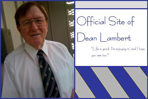Official Site of Dean Lambert