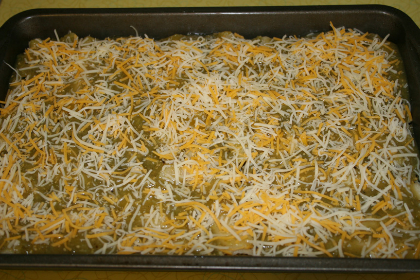 Green Chile Enchiladas recipe | Mother Nature Says