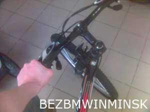 BEZBMWINMINSK купил велосипед, а не BMW