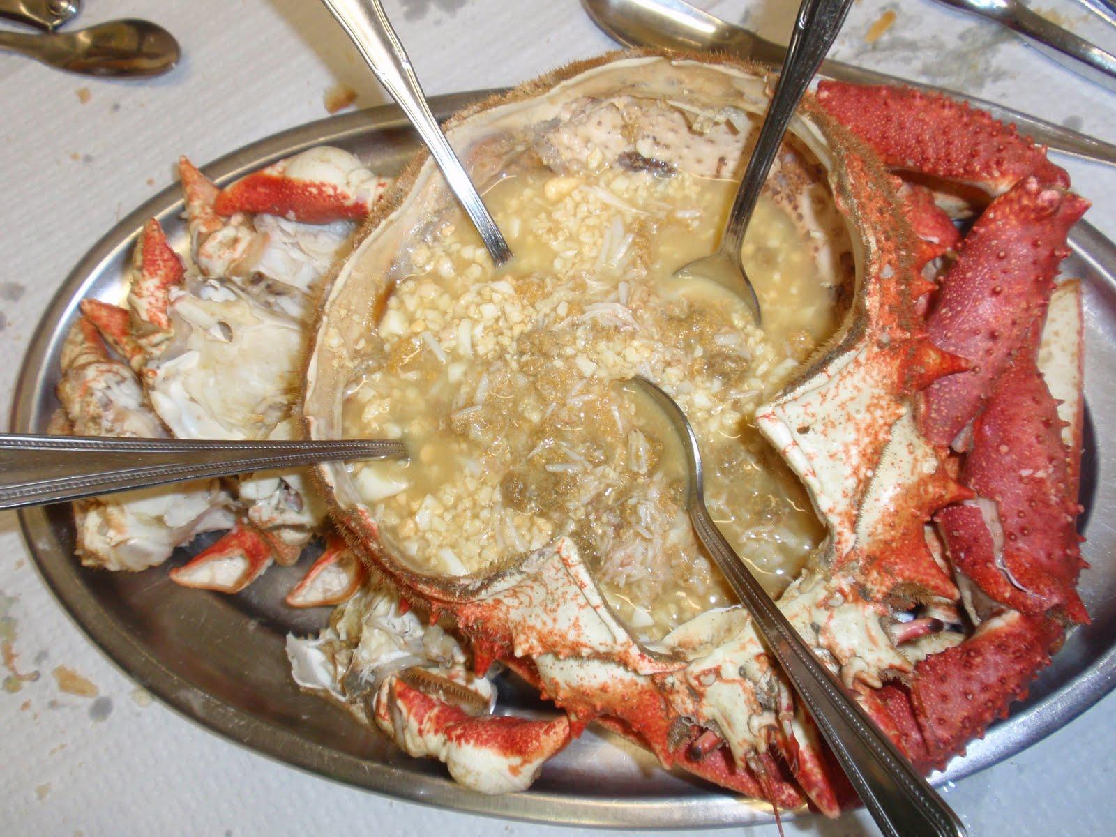 Sociedad gastron mica la horadada enero 2011 for Cocinar un centollo