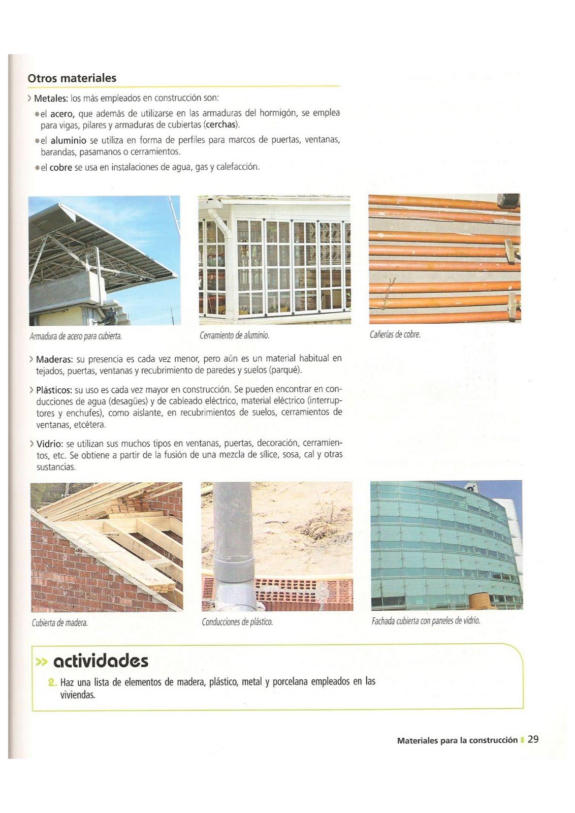 Proyecto 2 pcpi tarea 6 materiales de construcci n - Materiales de construccion precios espana ...