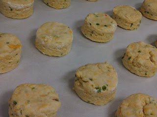 Like biscuits ready to go into the oven, The Wrapped Scallion is ...