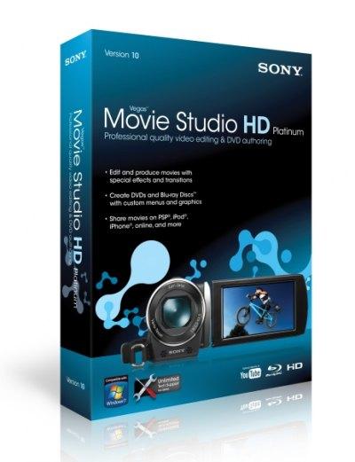 Download Sony Vegas Movie Studio HD Platinum v10