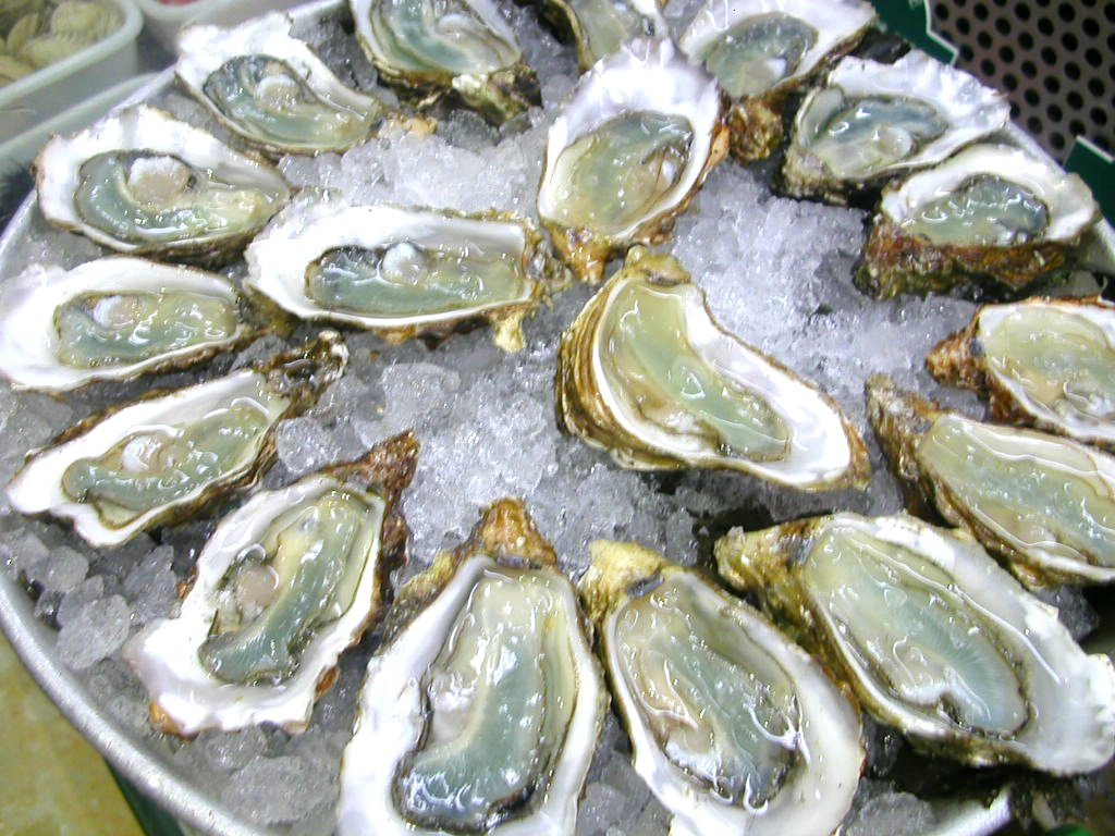 ... from meat, dairy and eggs, he has no qualms about eating oysters
