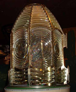 Fresnel lens from the Bolivar Light