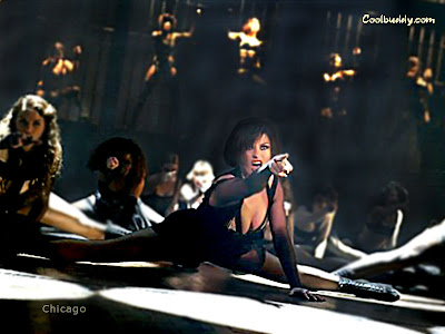 Catherine Zeta-Jones performing the Cell Block Tango from the musical Chicago