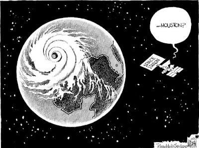 Hurricane Ike cartoon