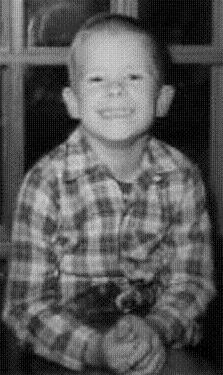 Bill Barnett, circa 1965, age 8, Dilley, Texas