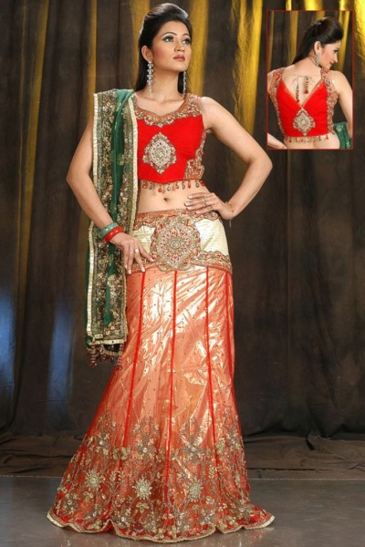 4 - Latest Lehnga Choli Designs Collection