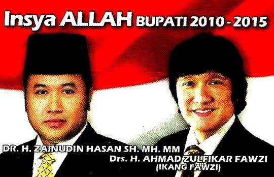Lampung Selatan, Zainudin Hasan dan Ikang Fawzi