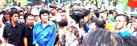 Orasi Zainudin Hasan di Lampung Selatan