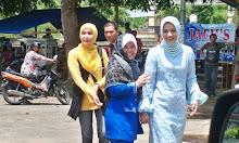Calon Wakil Ketua PKK Lampung Selatan Artis yang Doktor Marissa Haque