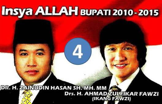Pilih Nomor 4, Pilkada Lampung Selatan 2010
