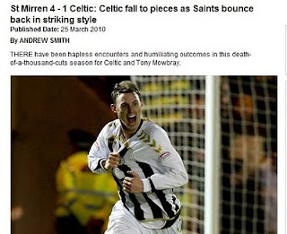 The Scotsman gets it wrong, The Scottish Football Blog