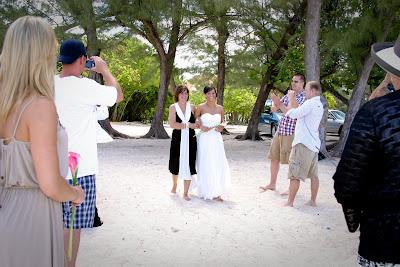 Traditional Cayman Beach Wedding Good Choice for Topeka, KS Couple - image 1