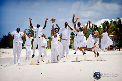 Cord of Three Strands for this Grand Cayman Beach Wedding - image 5