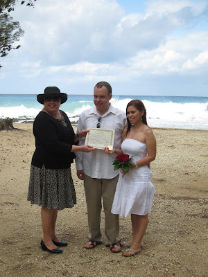 Stormy Weather Behind This Couple's Cayman Beach Wedding - image 5