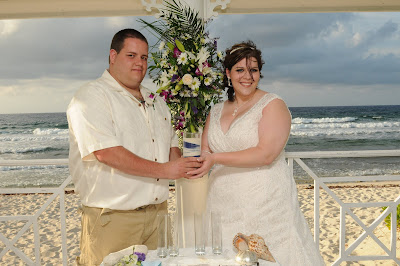 Sunset 'Cayman Sands' Wedding and Unity Sand Ceremony for Ohio couple - image 8