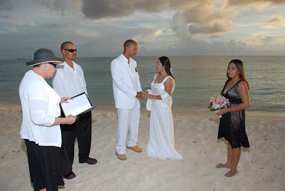 Locals Sunset Wedding at Marriott Courtyard Beach - image 1