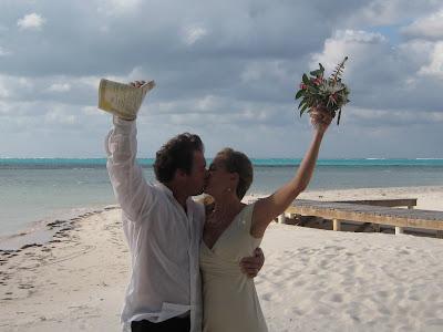 Deserted Beach Wedding for Alabama Couple - image 3
