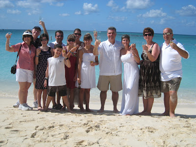 Seven Mile Beach Wedding Vows Renewal is Special - image 5
