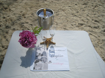 Seven Mile Beach Wedding Vows Renewal is Special - image 1