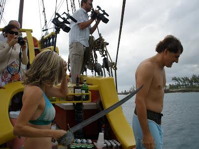 Walking the Plank at this fun Cayman Wedding - image 4