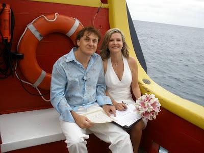 Walking the Plank at this fun Cayman Wedding - image 2