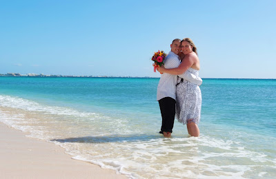 Footprints in the Sand - Cayman Islands Beach Wedding - image 8